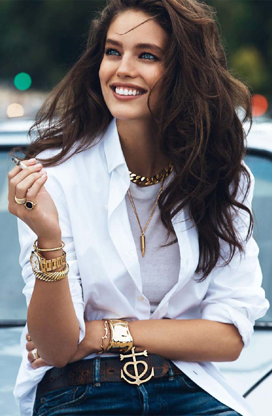 white shirt blouse outfit